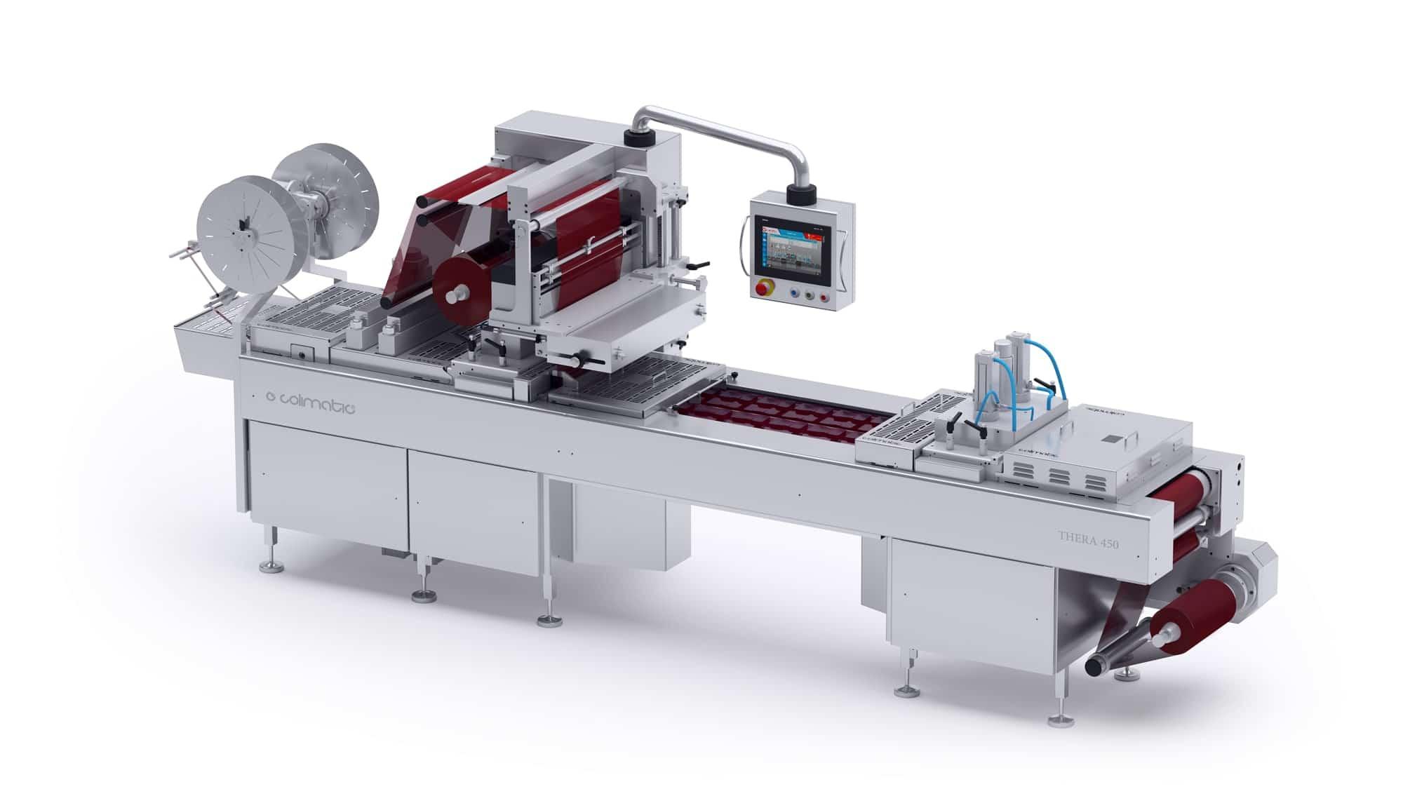 Termoformatrice thera 450 - Colimatic termoformatrici industriali