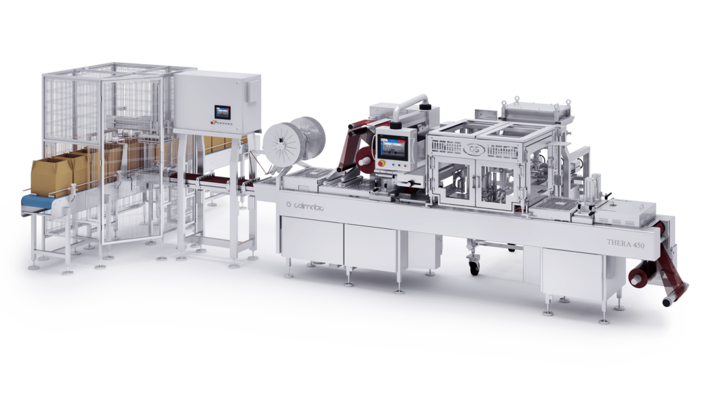 Single portion Colimatic industrial thermoforming machines