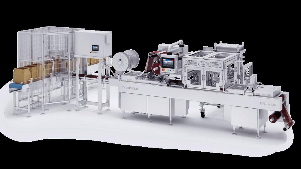 Single portion Colimatic macchina termoformatrice industriale