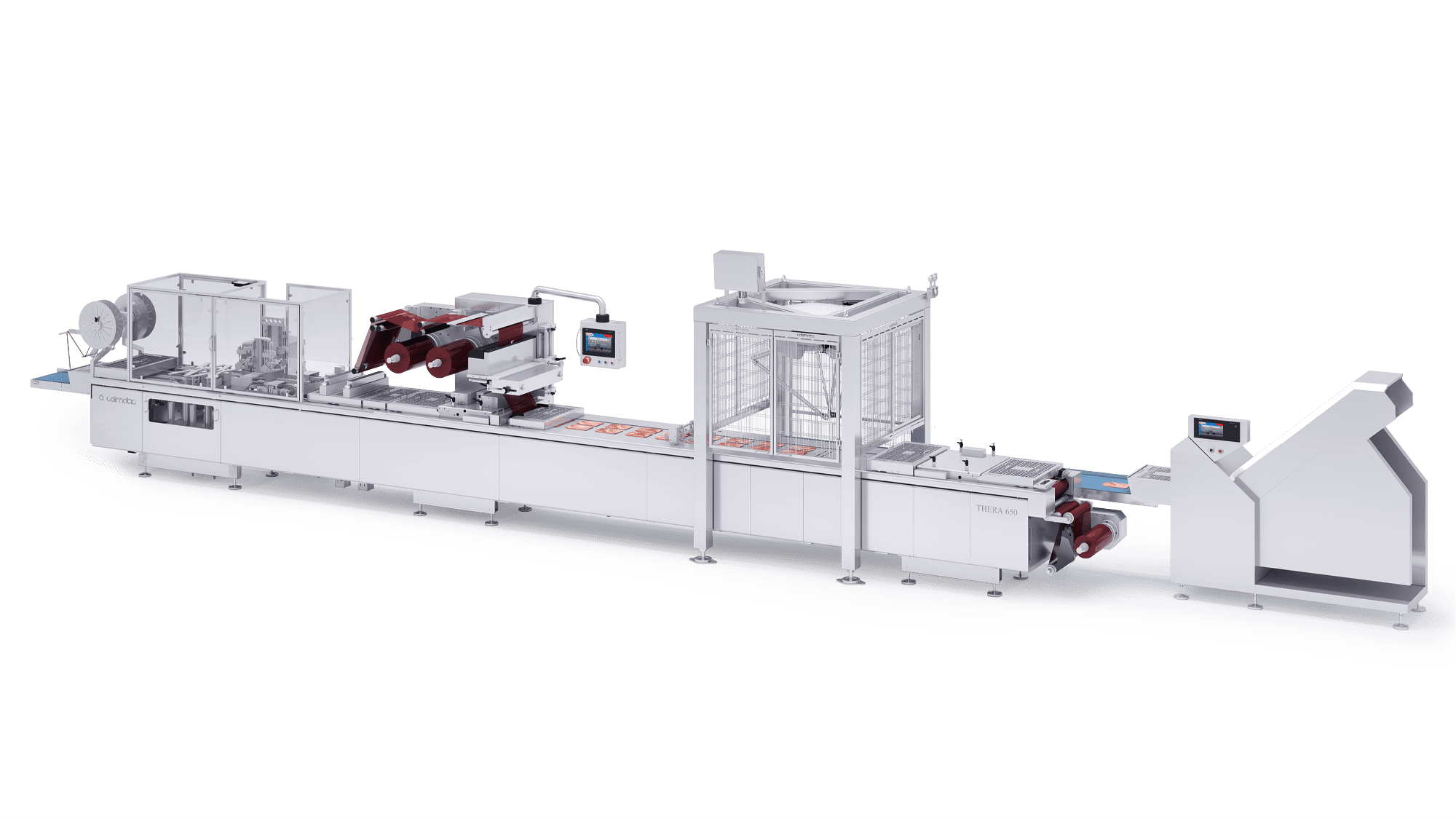 Cold Cuts Colimatic industrial thermoforming machines