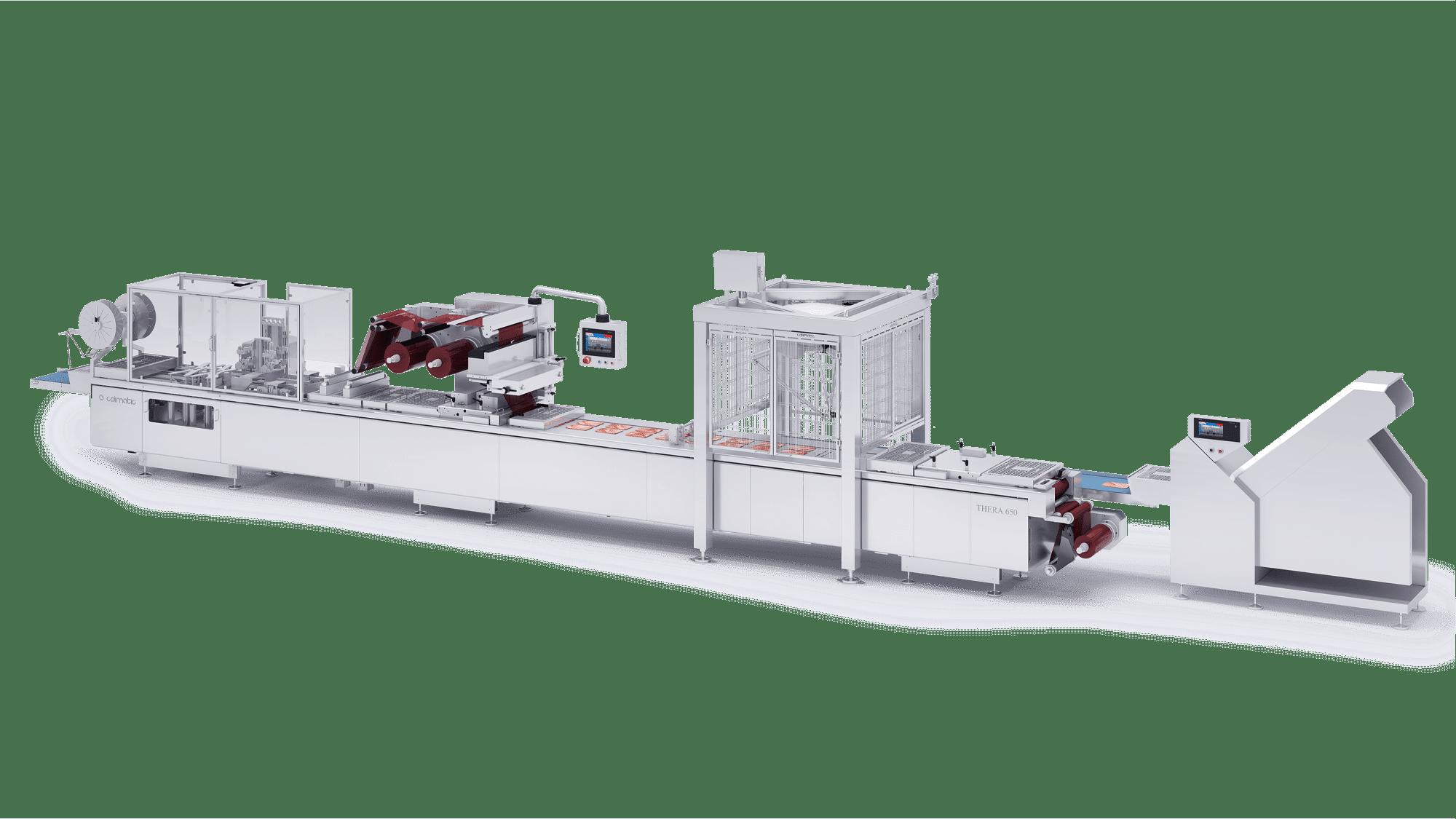 Cold Cuts Colimatic macchina termoformatrice industriale
