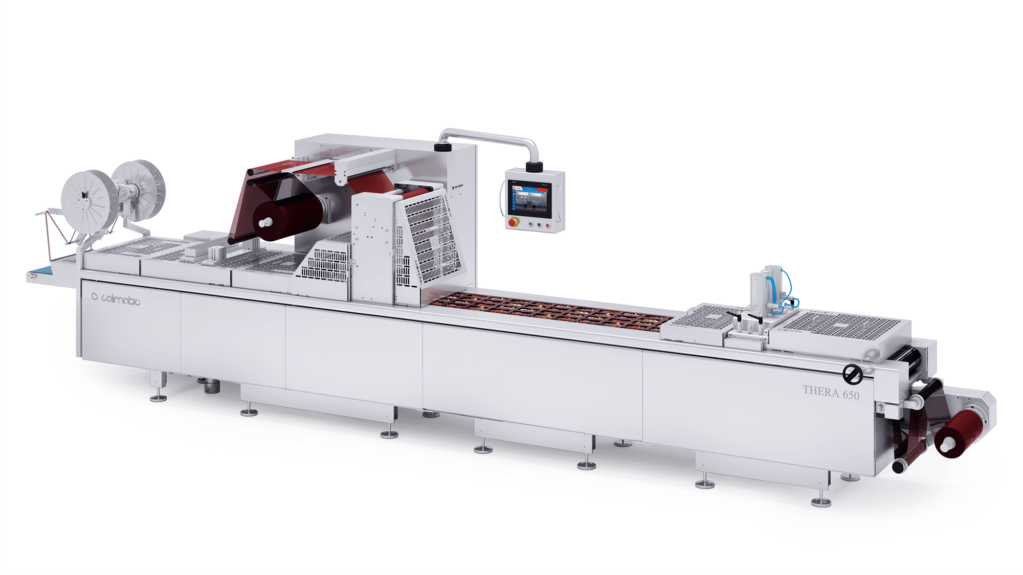 Skin & Shrink Line macchina termoformatrice per industria alimentare