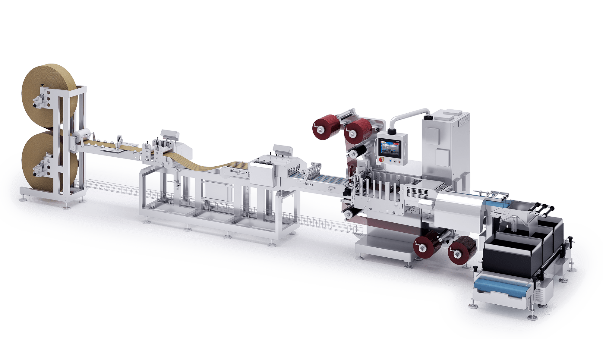 Tabs Colimatic  Industrial medical packaging production lines