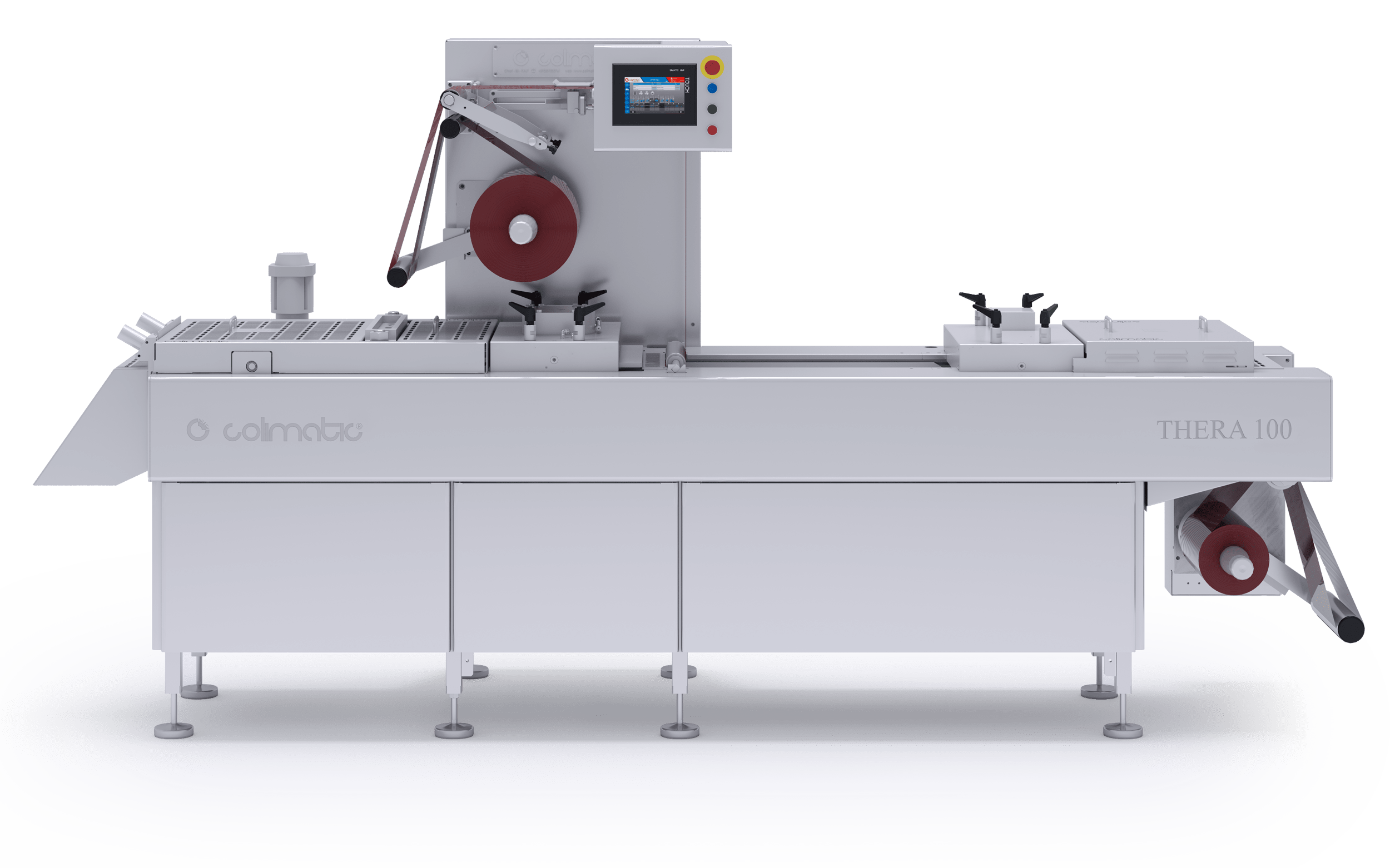 Technical draw thermoforming machine 100 - Colimatic thermoforming machines